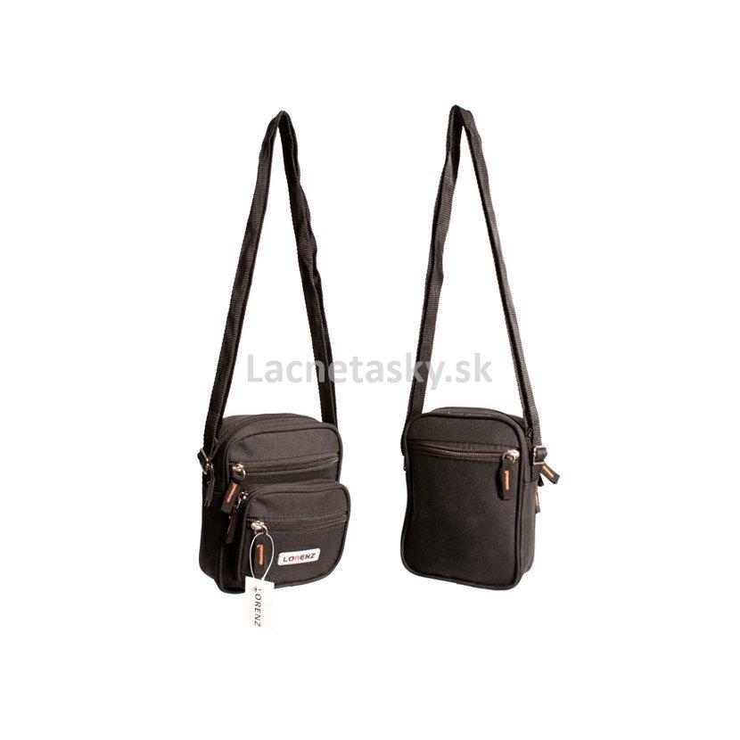... Malá taška cez plece Lorenz Black 2 l. 2570 POLYESTER BAG UNI BLACK.jpg cae66eaafd3