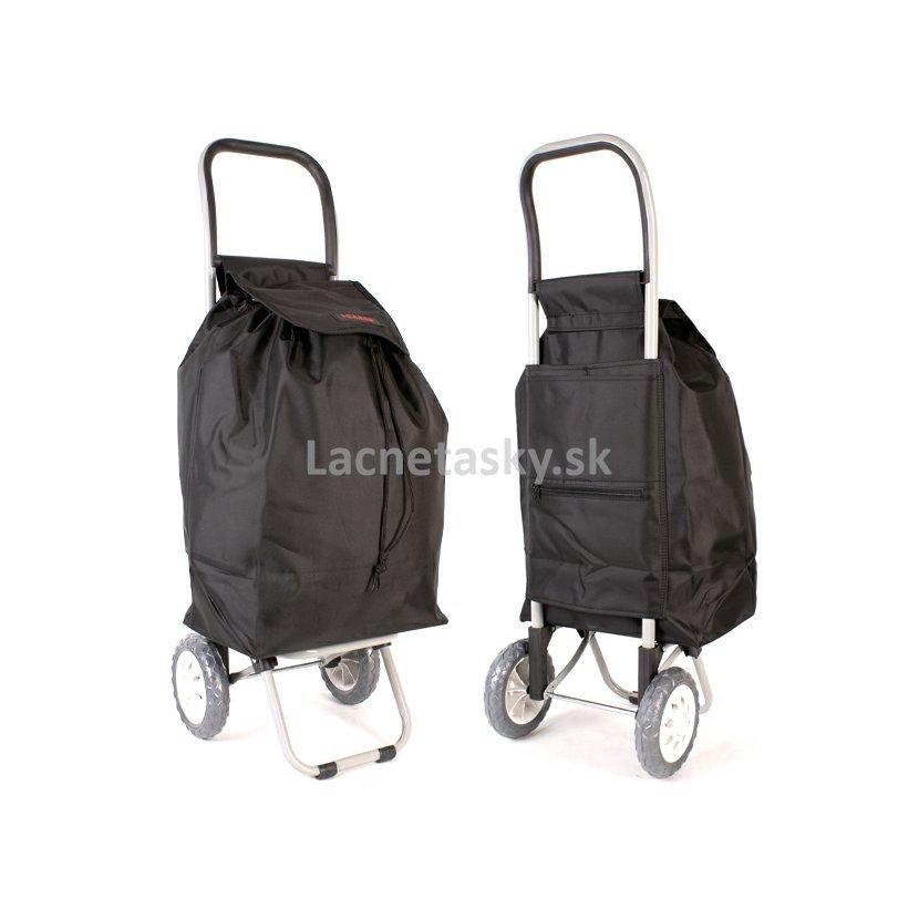 50b743d18527d Nákupná taška na kolieskach Lorenz Winter Black 36 l
