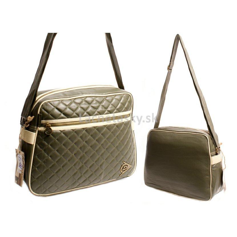 ... Taška cez plece Dunlop PU Messenger Bag Green. DUNSQ7050GRN-ECRU.jpg c9d7e1c86bc
