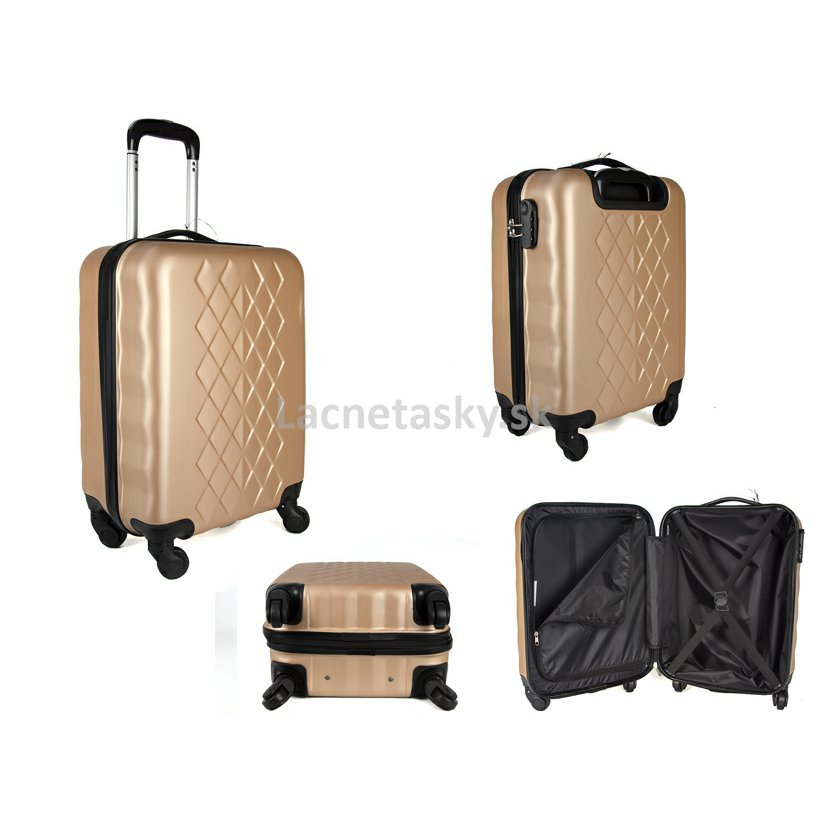 "14b0fd0f5b381 ... Škrupinový kufor do lietadla Borderline Gold 33 l. JB2017 GOLD 20""  CABIN TROLLEY CASE.jpg"