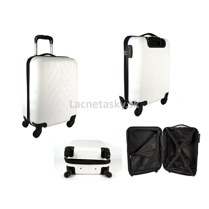 "7f8634e751dc7 ... Škrupinový kufor do lietadla Borderline White 33 l. JB2017 WHITE 20""  CABIN TROLLEY CASE.jpg"