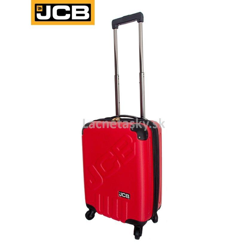 919f6ea531b7f Plastový kufor na kolieskach JCB Red 35,5 l