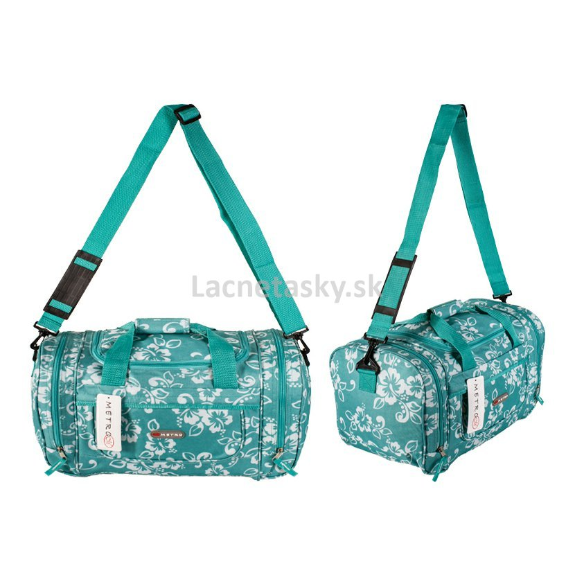 aceeaa1f8a657 ... Dámska cestovná taška Metro Lite Turquoise 27 l. LL-6522 FL  Turquoise.jpg