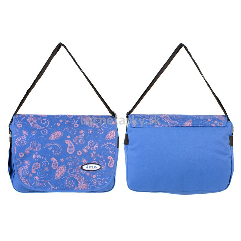 ... Taška na plece Jeep Messenger Bag Blue. PH-1105 BLUE.jpg 2dda311cbf7