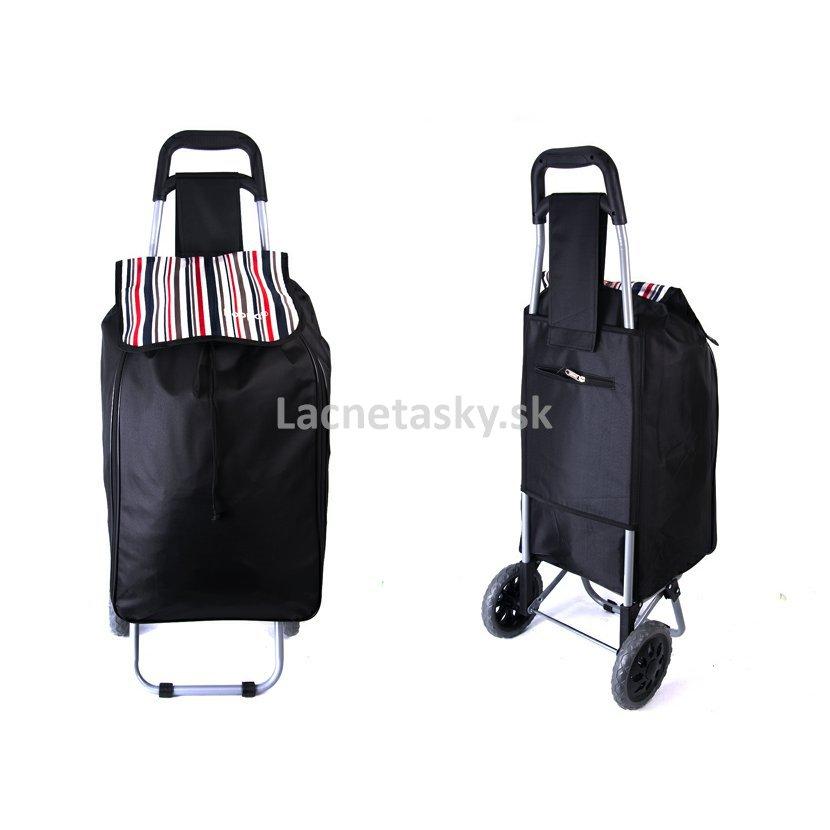 2b32a7d4e6470 ... Skladacia nákupná taška na kolieskach Hoppa Black. ST90 BLACK 23  EXPANDER SHOPPING TROLLEY.jpg